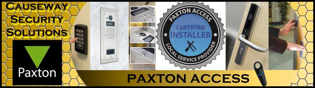 Paxton Access banner