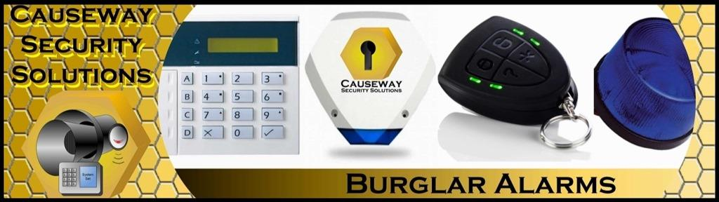 Causeway Security Solutions Burglar alarm services in Portballintrae banner image